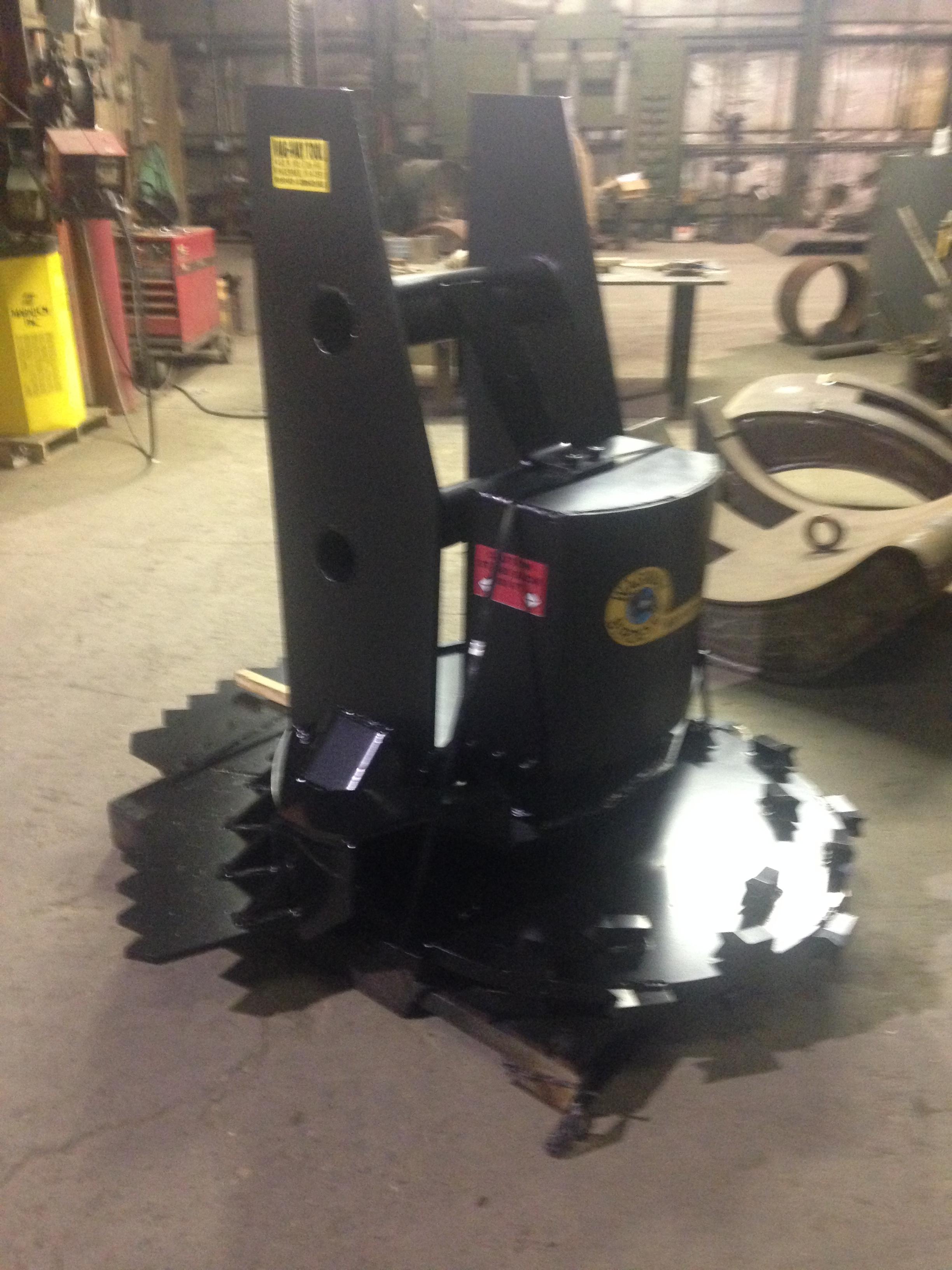 Custom model 1000 disk grinder