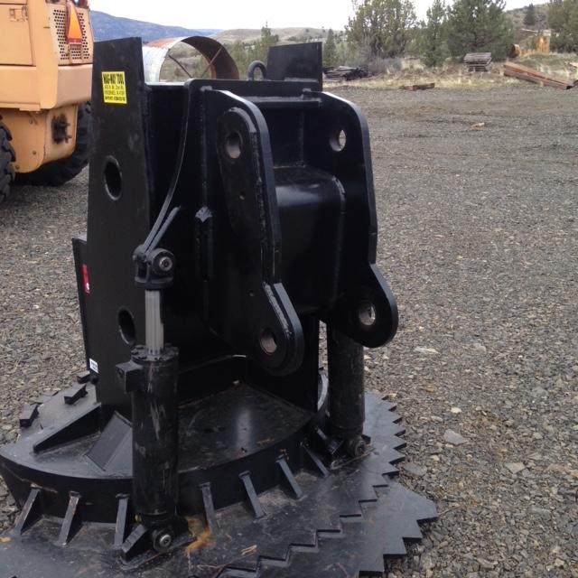 Custom model 1000 disk grinder with tilt