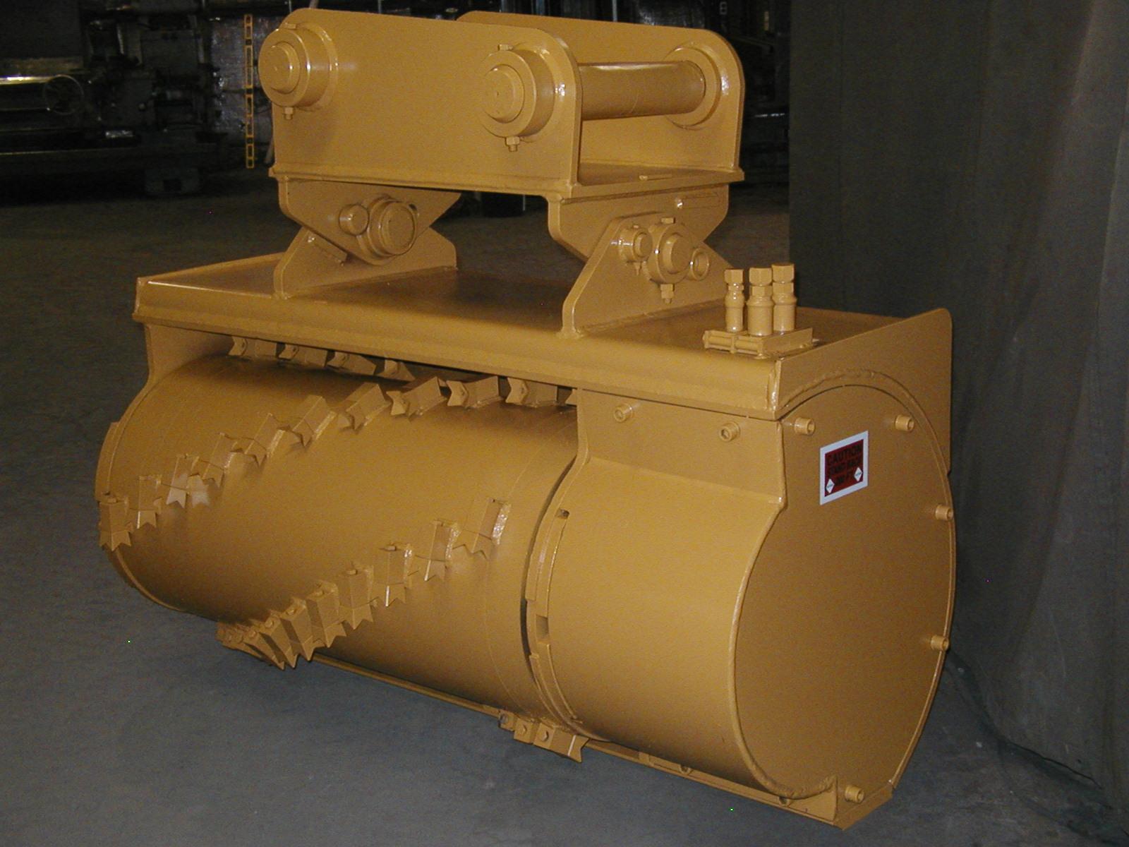 Model 1100 drum grinder