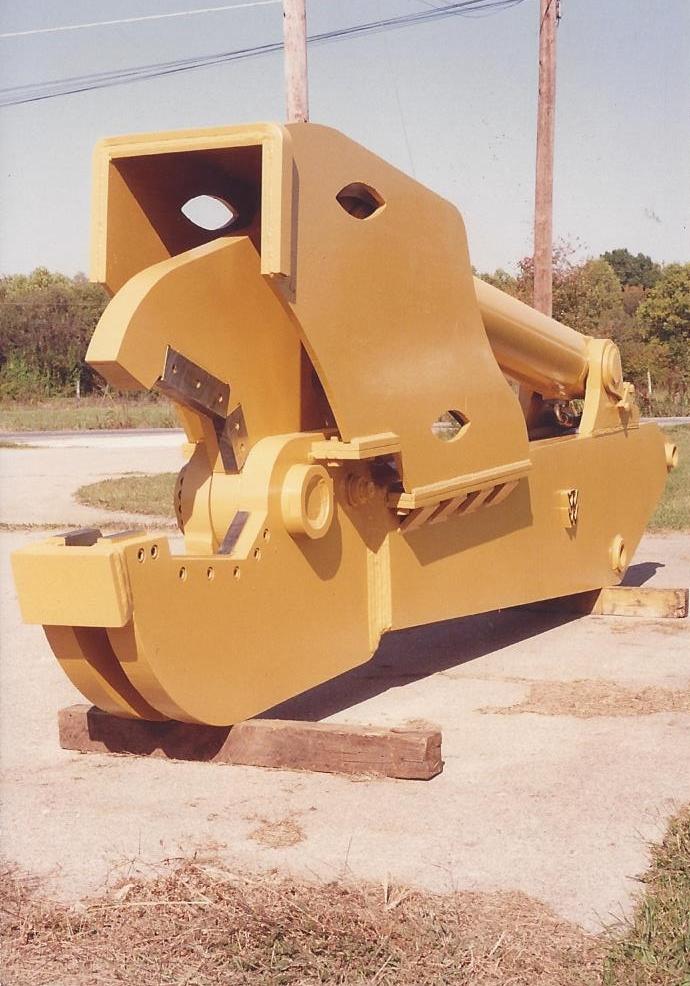 Stump plow attachment